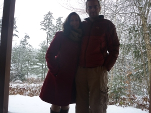 Honeymooners in Vermont